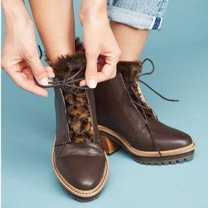 Kelsi Dagger Patterson Faux Fur Leather Boots